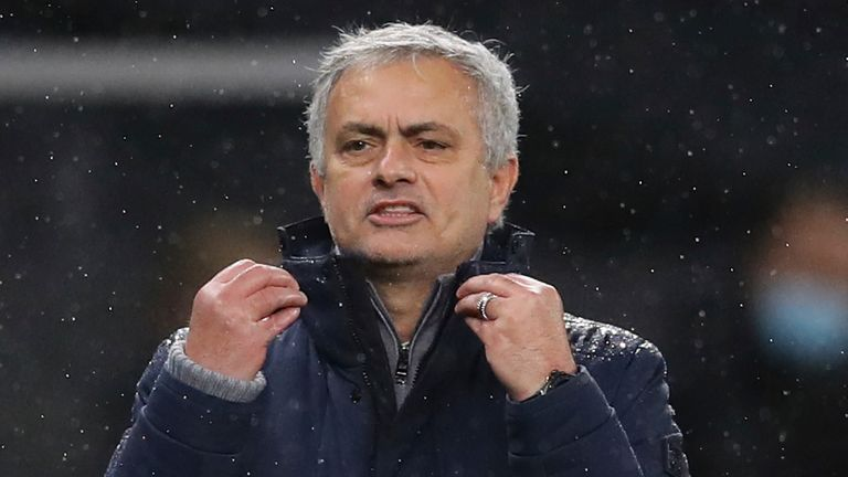 Jose Mourinho (AP IMAGE)
