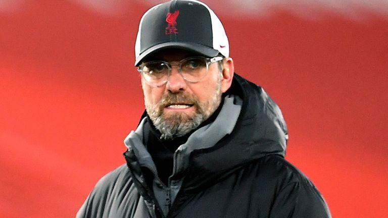 Liverpool manager Jurgen Klopp (PA image)