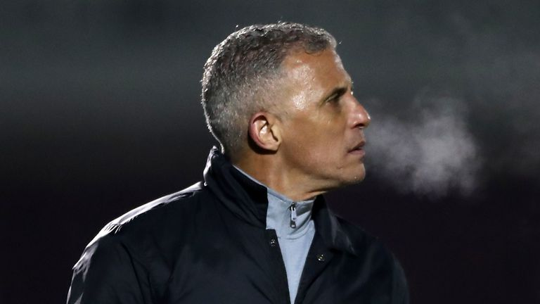 Keith Curle has been sacked as manager of League One Northampton