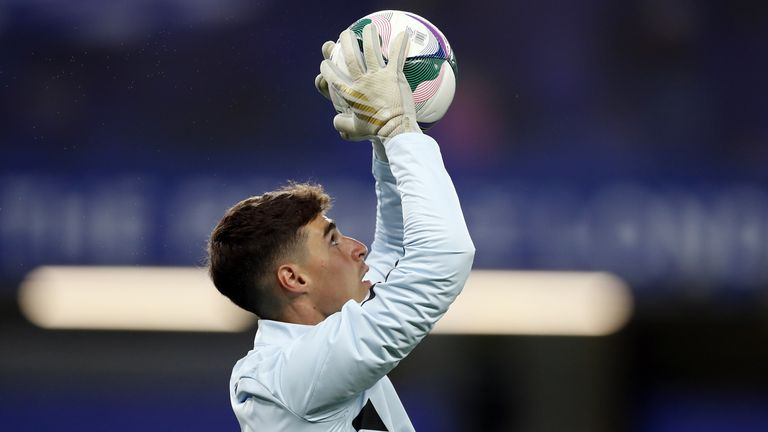 Kepa Arrizabalaga is set for his first appearance under Thomas Tuchel