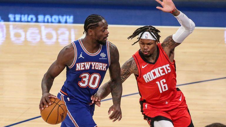 NBA Wkd 8: Knicks v Rockets
