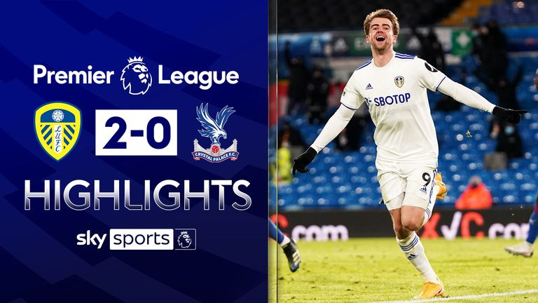 LEEDS UNITED 2-0 CRYSTAL PALACE