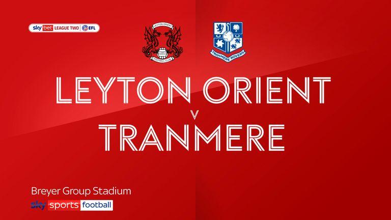 Leyton Orient v Tranmere