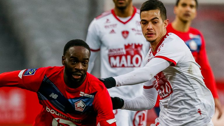 Lille were held in Ligue 1, but returned to the top of the table