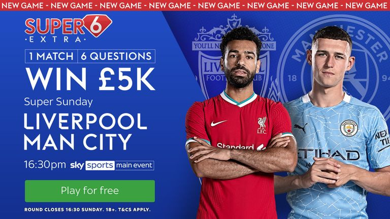Will you be the next winner of Super 6 Extra? Play for free for a chance to win £5,000!