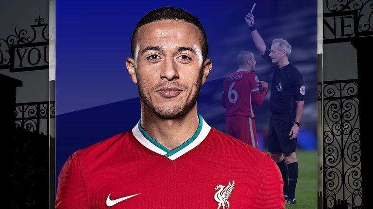 Thiago Alcantara's form for Liverpool is under scrutiny