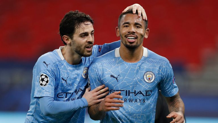 Bernardo Silva and Gabriel Jesus were both on target on Wednesday