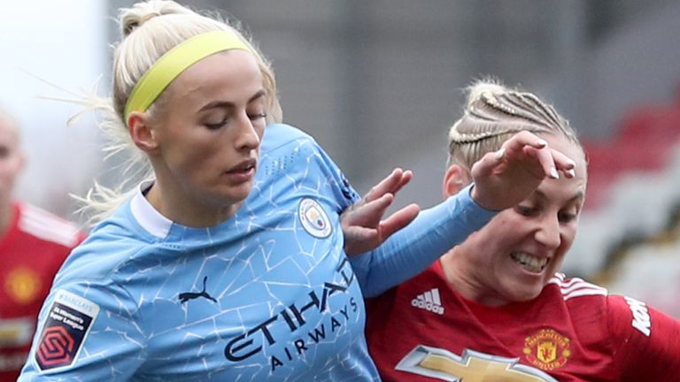 Man City and Man Utd drew 2-2 in a thrilling WSL encounter earlier this season