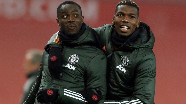 Eric Bailey og Paul Pogba, Manchester United