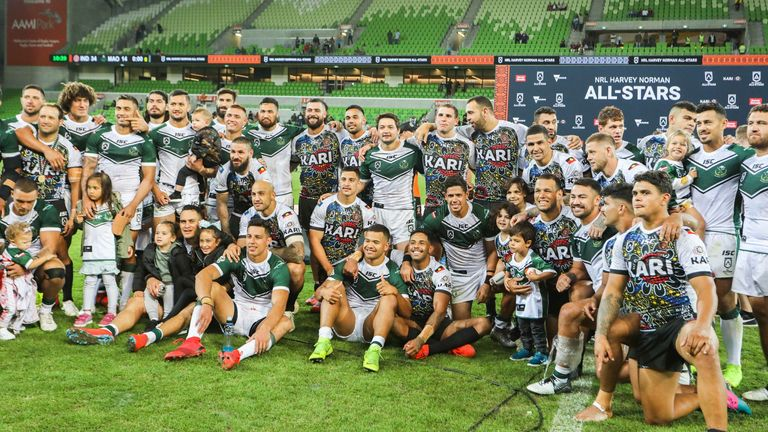The Indigenous and Maori All Stars clash again on Saturday