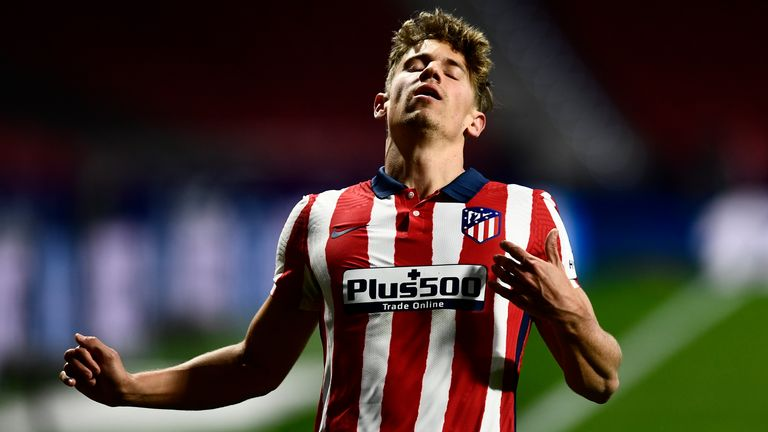 Marcos Llorente was on target but Atletico were held again