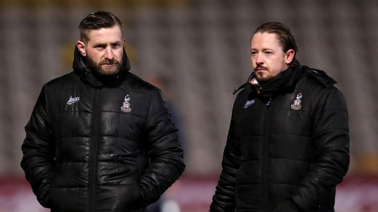 Mark Trueman and Conor Sellars have been appointed permanent joint managers of Bradford
