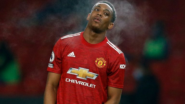 AP:  Anthony Martial