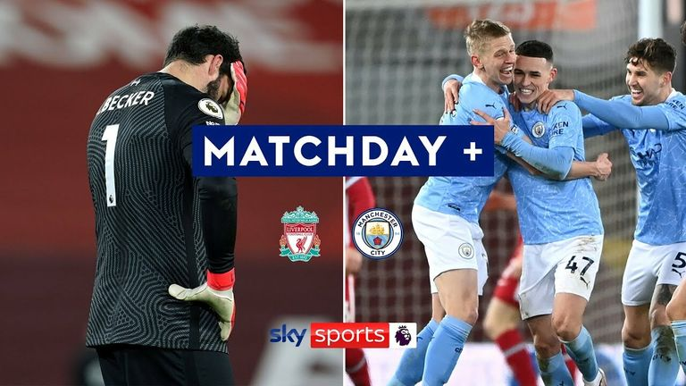 Matchday + | Liverpool 1-4 Manchester City