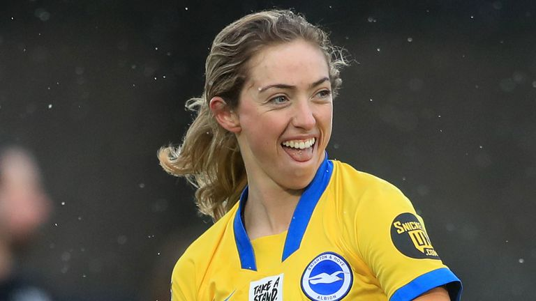 Megan Connolly set up Brighton's first before scoring their winner 12 minutes from time