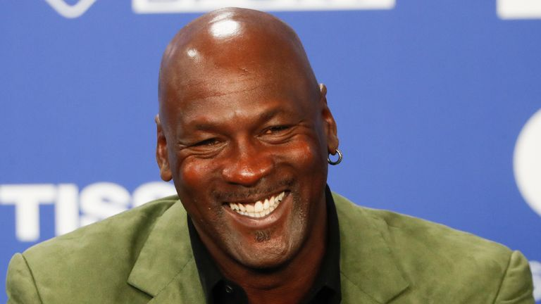 Michael Jordan has donated $10m to help build two medical clinics in his hometown in North Carolina