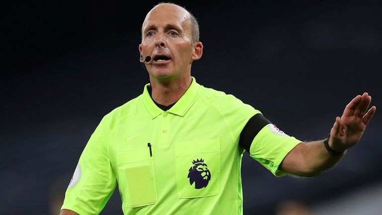 Mike Dean, Spurs vs Man City