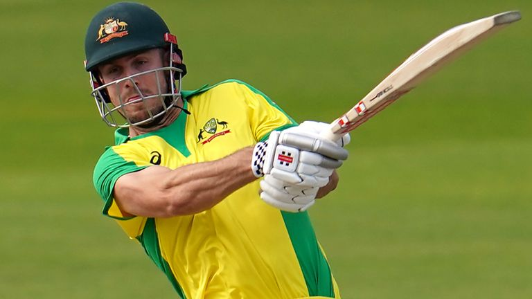 Marsh featured in Australia's short-format tour of England last summer