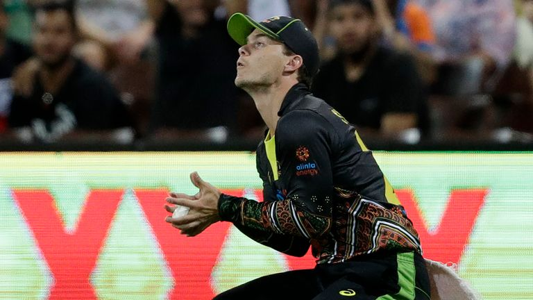 Mitchell Swepson played three Twenty20 matches for Australia against India in December