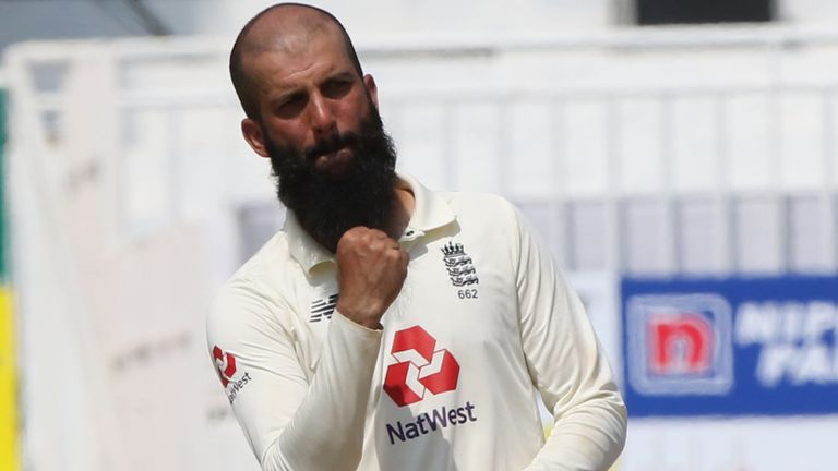 Moeen Ali played his first Test in 18 months and then left the India tour for his scheduled rest (Pic credit - BCCI)