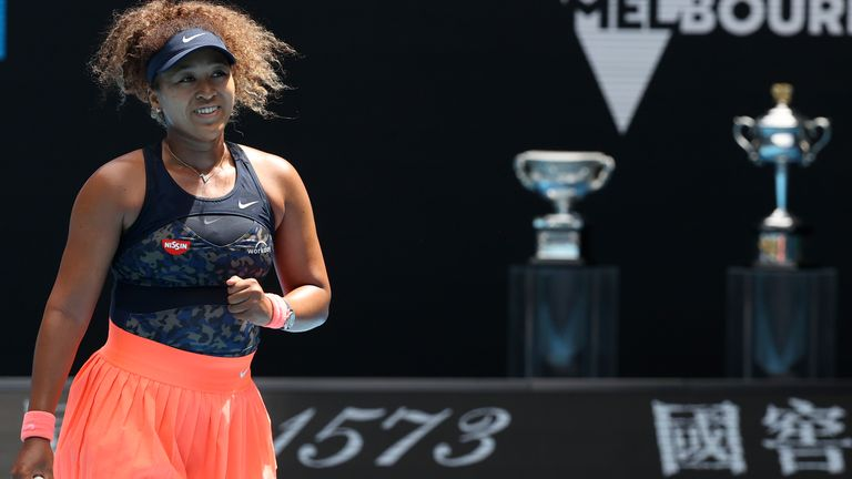 Osaka is aiming to win her fourth Grand Slam and second title in Melbourne