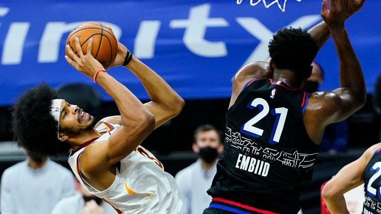 NBA: 76ers v Cavaliers