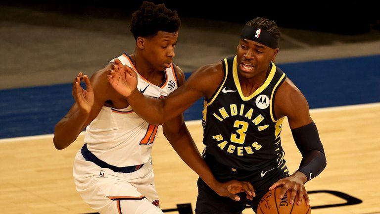 NBA: Knicks v Pacers