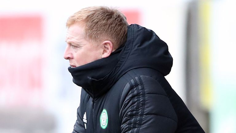 Neil Lennon says the ongoing review has not affected his work at Celtic