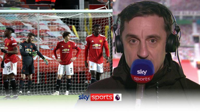 Neville on Man Utd v Everton