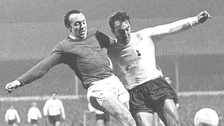 Nobby Stiles in action