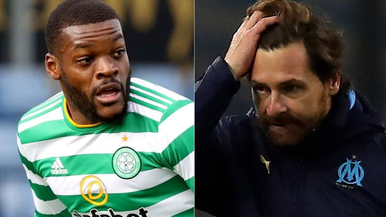 PA: Olivier Ntcham and Andre Villas-Boas
