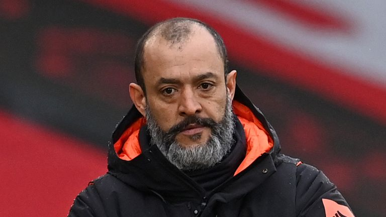 Nuno Espirito Santo is looking for more consistency from his side