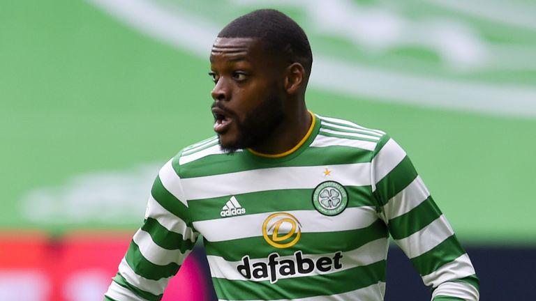 Olivier Ntcham has made seven league starts this season for Celtic and was denied a move to Brest in October.
