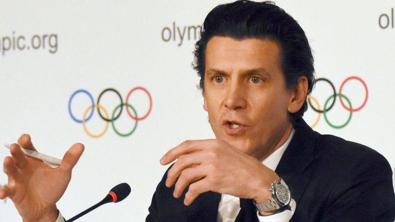 IOC sports director Christophe Dubi