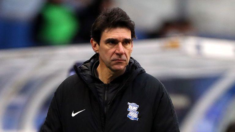PA - Birmingham City head coach Aitor Karanka