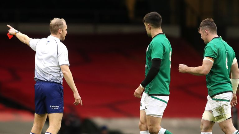 Peter O'Mahony's red card cost Ireland dearly against Wales in Round 1