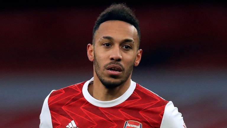 Pierre-Emerick Aubameyang is Arsenal's top goalscorer