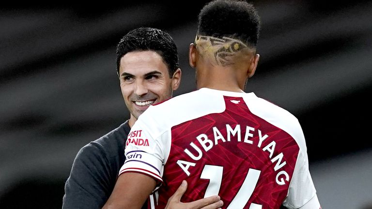 Pierre-Emerick Aubameyang could face action from Arsenal if he is found to have broken coronavirus rules by getting a tattoo done