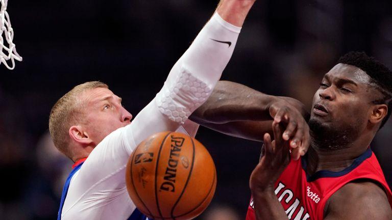 Pelicans @ Pistons Highlights