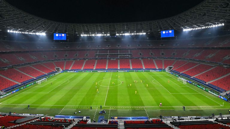 The Puskas Arena in Budapest will now host RB Leipzig vs Liverpool in the Champions League