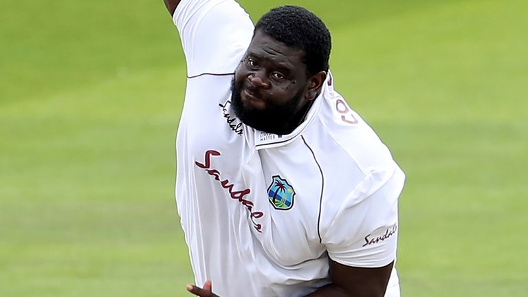 Rahkeem Cornwall returned his second five-wicket haul in Test cricket