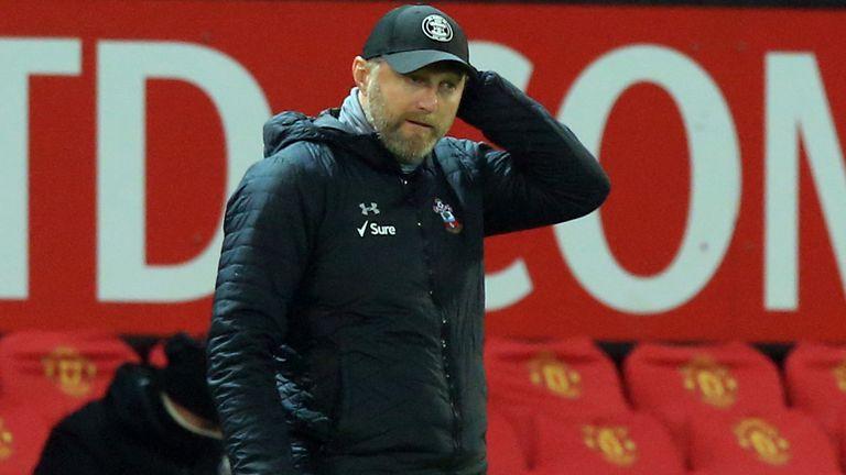 Ralph Hasenhuttl Man Utd Southampton