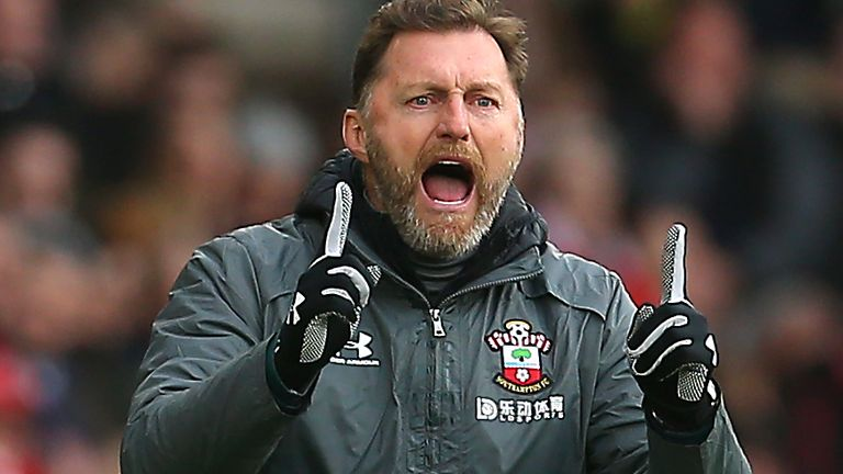 Ralph Hasenhuttl file photo File photo dated 07-03-2020 of Southampton manager Ralph Hasenhuttl. Issue date: Monday February 22, 2021.