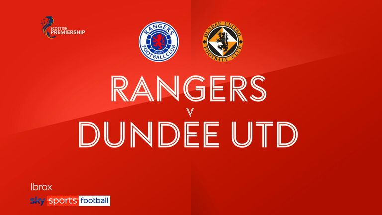 Rangers 4-1 Dundee Utd FT badge