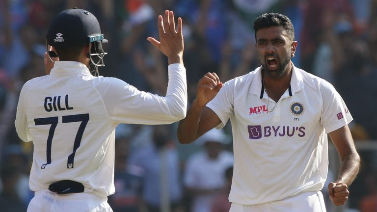 The subtleties of Ravichandran Ashwin's bowling are something Leach is trying to learn from (Pic credit - BCCI)