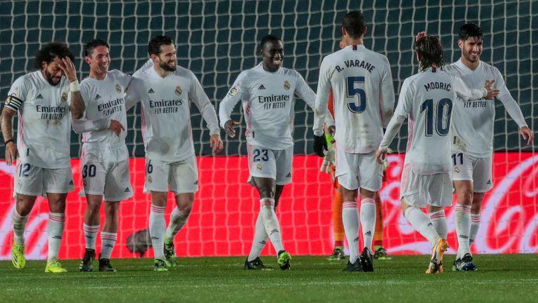 Real Madrid moved five points behind La Liga leaders Atletico Madrid