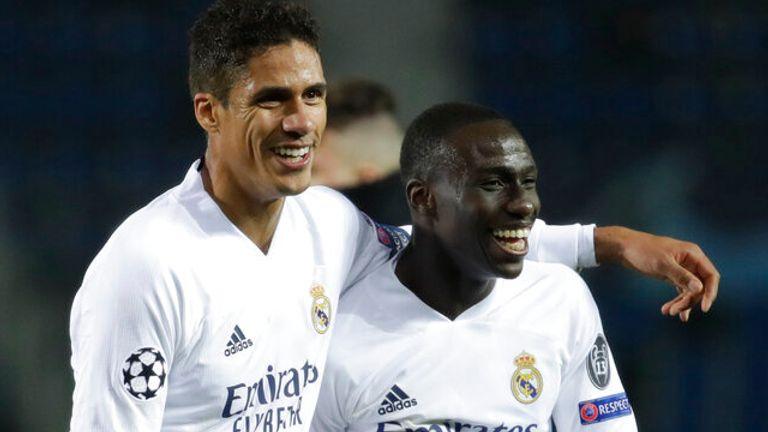 Ferland Mendy scored the winner for Real Madrid against Atalanta
