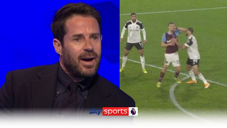 Jamie Redknapp gives his take on Soucek's red card for West Ham against Fulham