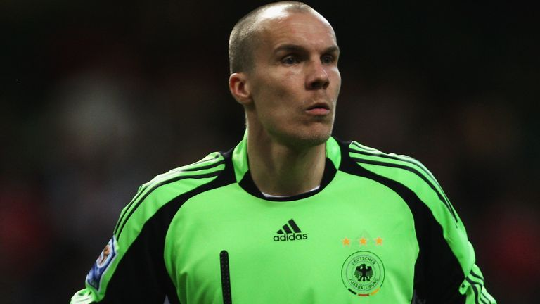 Robert Enke, pictured playing for Germany in 2009