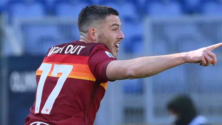 Jordan Veretout scored twice for Roma